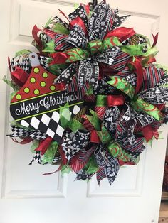 Front Door Wreath Wreath for Christmas Best Door Wreath Black Christmas, Christmas Crafts, Merry Christmas, Christmas Ideas, Christmas Quotes, Christmas 2017, Holiday Ideas, Christmas Time, Make Your Own Wreath