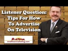 [Podcast] Listener Question: Tips for Advertising On Television