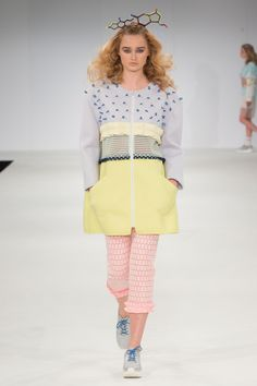 Nottingham Trent University Graduate Fashion Show 2015. Click through to see full gallery on vogue.co.uk.