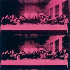 Andy Warhol / Last Supper More Pins Like This At FOSTERGINGER @ Pinterest