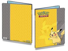 Ultra Pro Pokemon 9 Pocket Full View Portfolio Pikachu: 9-pocket portfolio featuring Pikachu art from Pokemon. Holds 90 collectible cards single-loaded or 180 double-loaded. Each Portfolio includes 10 high-clarity, archival-safe pages.