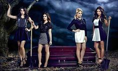 pretty little liars This is definitely their scene, they always discovering someone dead!