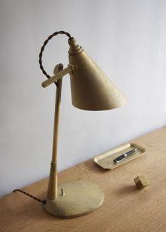 FUTAGAMI フタガミ:真鍮 スタンドランプ デスクランプ