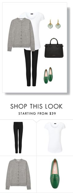"""""""#111"""" by cindrof on Polyvore featuring Joseph, Uniqlo, Tod's, Ole Lynggaard and Burberry"""