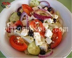 Ensalada griega - Platos Plis Plas