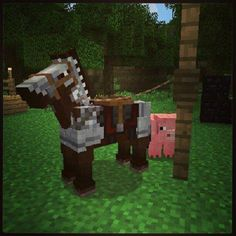 They are finally going to add horses in Minecraft. Minecraft Horse, Minecraft Quilt, Minecraft Stuff, Minecraft Images, Let's Have Fun, Cool Tech, Sandbox, Dollhouse Miniatures, Paper Crafts