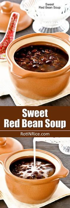 Chinese Sweet Red Bean Soup Recipe — Dishmaps