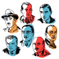 Series of drawings about the life of Zofia Stryjeńska – BWA Tarnow