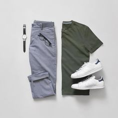 Mens Casual Dress Outfits, Stylish Mens Outfits, Komplette Outfits, Men Dress, Fashion Outfits, Nice Casual Outfits For Men, Stylish Clothes, Fashion Shoes, Smart Casual
