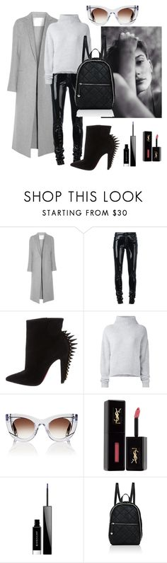 """""""Senza titolo #960"""" by ghilby90 ❤ liked on Polyvore featuring ADAM, Anthony Vaccarello, Christian Louboutin, Le Kasha, Thierry Lasry, Baldwin, Yves Saint Laurent, Givenchy and STELLA McCARTNEY"""