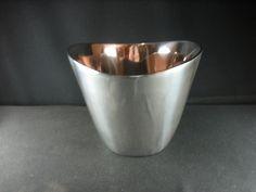 "Nambe Studio 532B Champagne Bucket  7""H X  6.5""D X 9""W top X 5""W bottom"