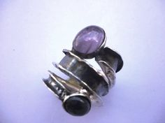 Christmas gift .Helical rings.shipping free. by MegaronJewelry