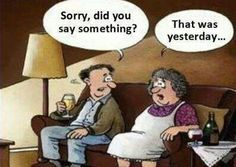 "lol! ""Sorry, did you say something?"""