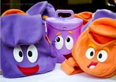 Dora The Explorer Free Backpack Sewing Pattern for Kids by Christine M Byrd #sewing