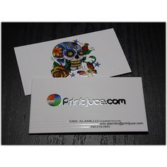 Silk Laminated Business Cards with Spot UV option - Products Printjuce
