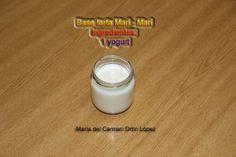 Base tarta Mari - Mari Ingredientes: 1 yogurt