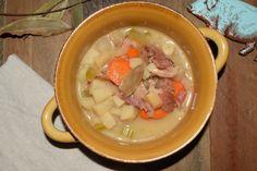 Heart Ham Chowder! Perfect for leftover ham bones! :)
