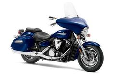 The mid-size bagger with a 1304cc engine, Star Motorcycles is the all cruiser division from Yamaha.    The 2013 Yamaha V-Star Deluxe 1300.