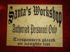 Santa's Workshop Decorations | Santa's Workshop | Flickr - Photo Sharing!