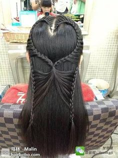 Weekly hair collection: 21 TOP hairstyles of the week! - The HairCut Web Top Hairstyles, Little Girl Hairstyles, Pretty Hairstyles, Braided Hairstyles, School Hairstyles, Updo Hairstyle, Wedding Hairstyles, Casual Hairstyles, Medium Hairstyles
