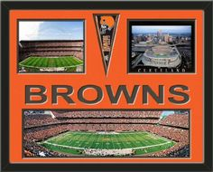 Cleveland Browns Cleveland Browns Stadium Panoramic Framed With Different Views-Awesome & Beautiful-Must For Any Fan! Art and More, Davenport, IA http://www.amazon.com/dp/B00G24JQJY/ref=cm_sw_r_pi_dp_bdCIub10YYM9C