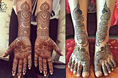 Traditionally, mehendi has always been of a great importance for an Indian bride. A bride is considered incomplete if her hands are not clad with beautiful and vibrant mehendi. So, here are some of the best bridal mehendi design combos for your hands