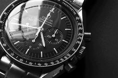 Omega Speedmaster - First watch on the moon, classic.