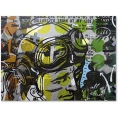 Trademark Fine Art He Man Canvas Art by Dan Monteavaro, Size: 24 x 32, Multicolor