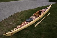 Night Heron High Deck: Strip-Built Performance Sea Kayak by Nick Schade