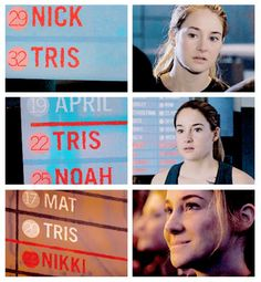 I'm glad they showed her struggle to stay in dauntless. Divergent