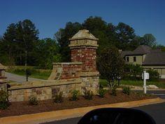 Stone Brick Driveway Entrance #stone_brick_driveway_entrance