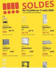 Les soldes IKEA, des affaires en magasin et en ligne