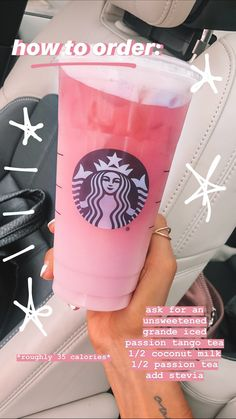 vegan starbucks tea Was not the best, so would not recommend. I am still recovering. vegan starbucks tea Was not the best, so would not recommend. I am still recovering. Starbucks Hacks, Bebidas Do Starbucks, Healthy Starbucks Drinks, Starbucks Secret Menu Drinks, Starbucks Refreshers, Starbucks Smoothie, Healthy Drinks, Starbucks Pink Drink Recipe, Starbucks Flavors
