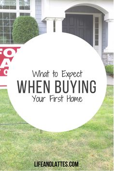 Interested in buying a house, but don't know where to start? Don't worry you're not alone! Life & Lattes   First-Time Home Buyer   Real Estate   Marriage   Adulting