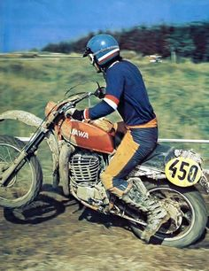 Built for Looks, Not for Speed Enduro Vintage, Vintage Motocross, Vintage Bikes, Vintage Motorcycles, Vintage Racing, Retro Bikes, Enduro Motocross, Motocross Racing, Mx Bikes