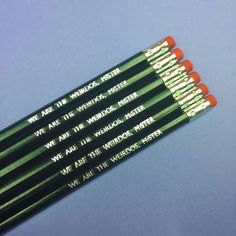 #WeAreTheWeirdosMister  #TheCraft #PopCultPencils available from http://ift.tt/1ihQVKN with FREE uk shipping!