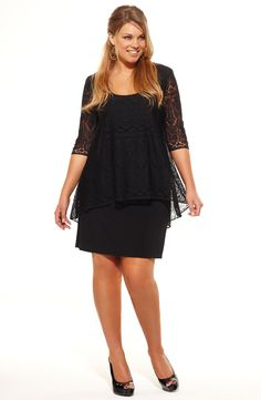 Black dress plus size australia clothing