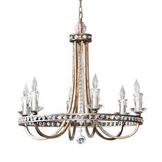 Candace olson chandy on lisa mende design lampsplus is awesome candace olsen aristocrat 6 light chandelier aloadofball Choice Image