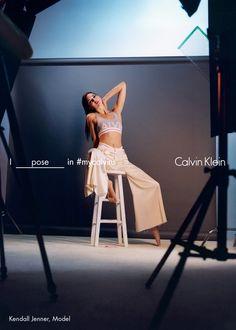 Kendall Jenner étoiles au printemps 2016 la campagne de Calvin Klein