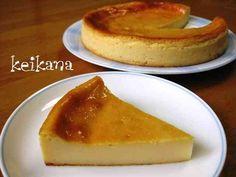 酒粕とHMで超簡単☆濃厚チーズケーキの画像