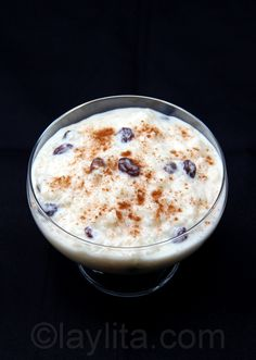 Arroz con leche or rice pudding