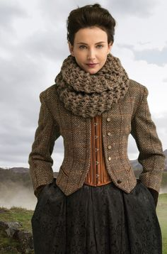 Outlander the Series Kit: Return to Inverness Cowl (Knit). Each kit includes all the yarn you need for the project, as well as a copy of the pattern.