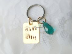 CHA CHING Keychain Sell On Etsy Etsy Seller by Unique2chicdesigns
