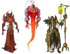 Monster Designs from WildStar