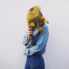 Image about girl in dreaming by biel on We Heart It Tmblr Girl, Art Blue, Fleur Orange, All The Bright Places, Foto Instagram, Disney Instagram, Shooting Photo, Mellow Yellow, Looks Cool