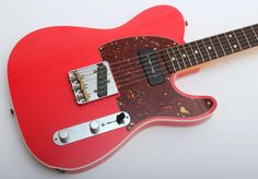 Fender Custom Shop '60 Telecaster with P-90 Closet Classic (Faded Fiesta Red)