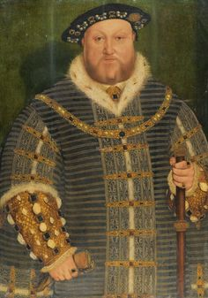 Workshop of Hans Holbein the Younger AUGSBURG 1497/8 - 1543 LONDON PORTRAIT OF KING HENRY VIII (1491–1547) oil on oak panel 91 by 64 cm.; 35 3/4  by 25 1/4  in.