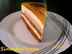 Ζαχαροπλαστική Πanos: Τούρτα καραμέλα - πραλίνα French Toast, Cheesecake, Cakes, Breakfast, Desserts, Food, Art, Morning Coffee, Tailgate Desserts