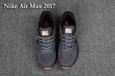 pretty nice 986a1 c6aa3 New Nike Air Max 2017 Carbon Grey Mens Shoes hot now Toms Shoes For Men,