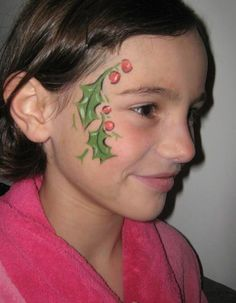 Face Paint,Face Painting Tips: 2012 Christmas Halloween Face Painting for kids